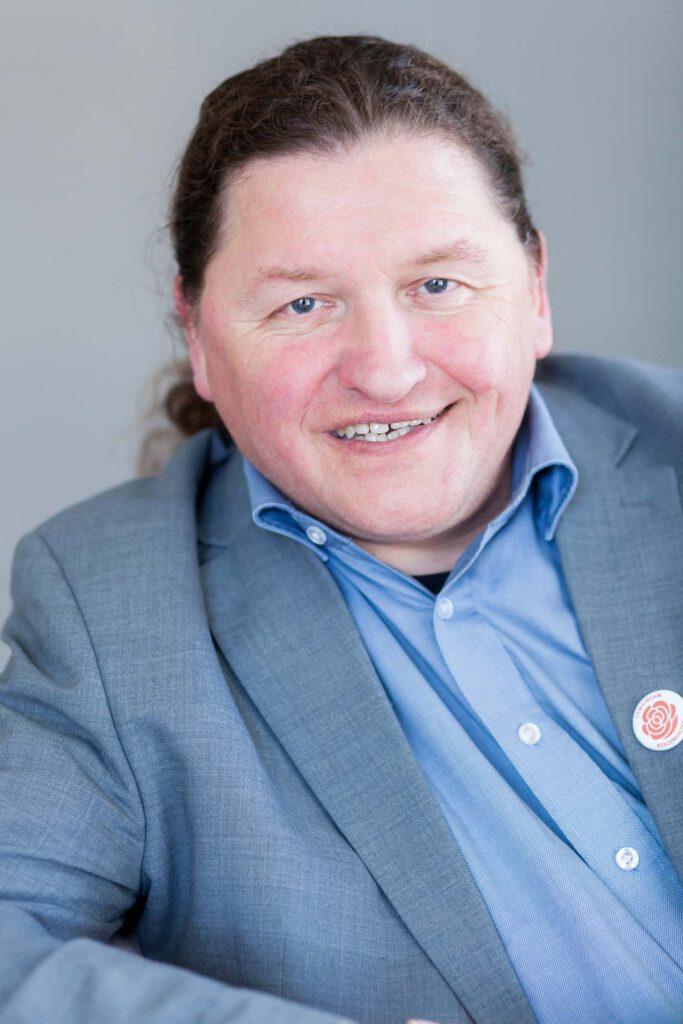 Dr. Oswald Prucker, Unterstützer der SPD-Bundestagskandidatin Julia Söhne für den Wahlkreis Freiburg & Region