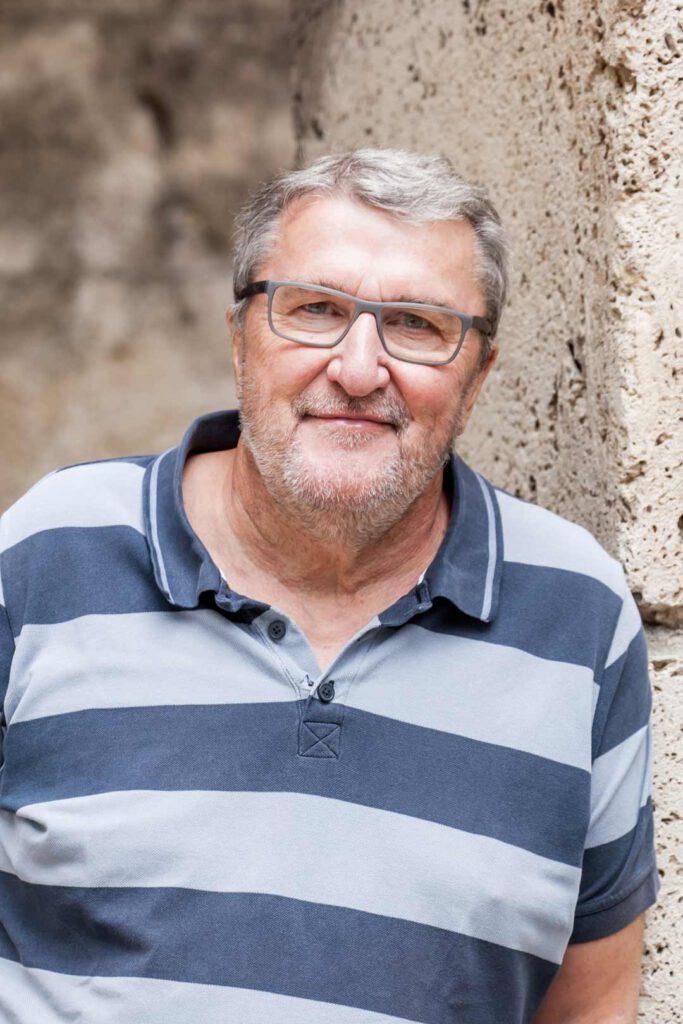 Erich Stather, Unterstützer der SPD-Bundestagskandidatin Julia Söhne für den Wahlkreis Freiburg & Region