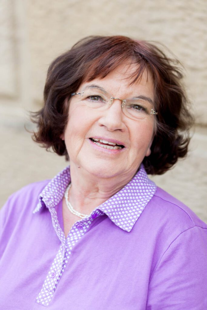 Eva Opitz, Unterstützerin der SPD-Bundestagskandidatin Julia Söhne für den Wahlkreis Freiburg & Region