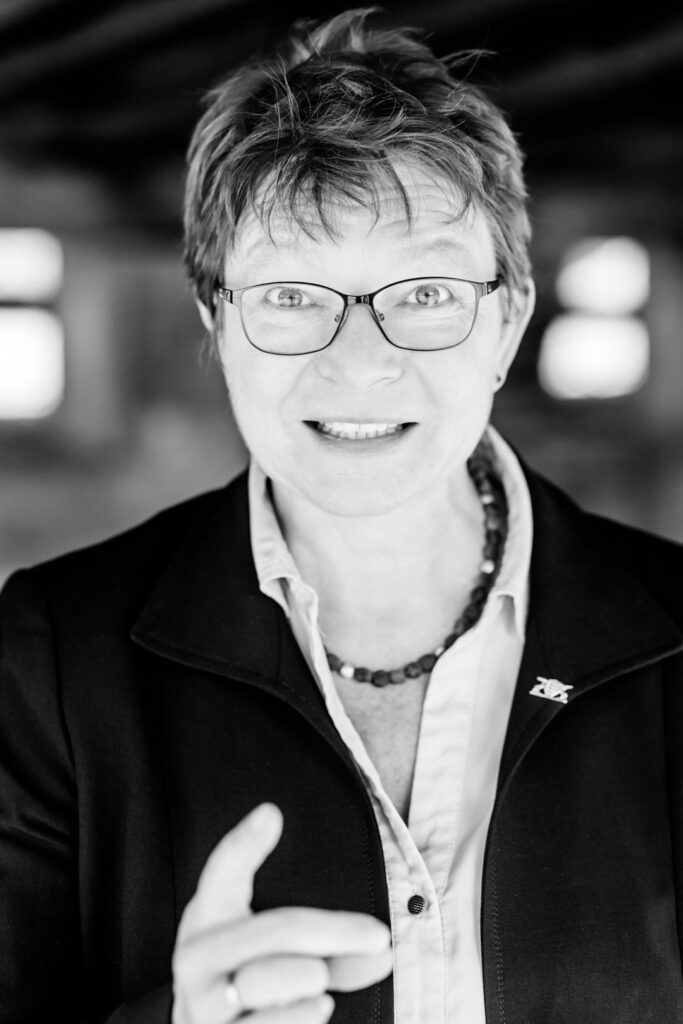 Gabi Rolland, Unterstützerin der SPD-Bundestagskandidatin Julia Söhne für den Wahlkreis Freiburg & Region