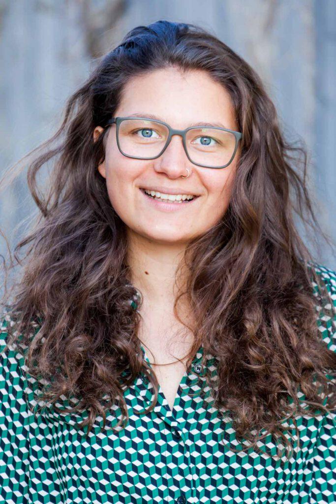 Hannah Schraivogel, Unterstützerin der SPD-Bundestagskandidatin Julia Söhne für den Wahlkreis Freiburg & Region