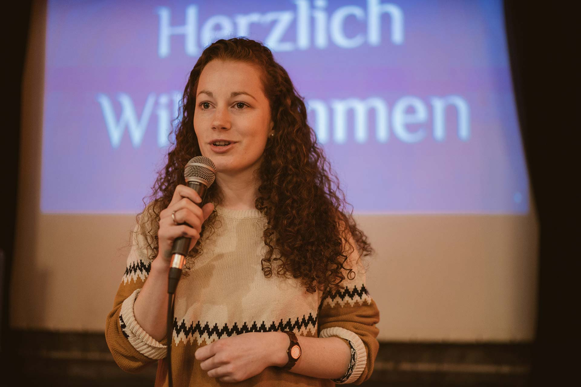 Julia Söhne am Wahlabend der OB-Wahl 2018 in Freiburg