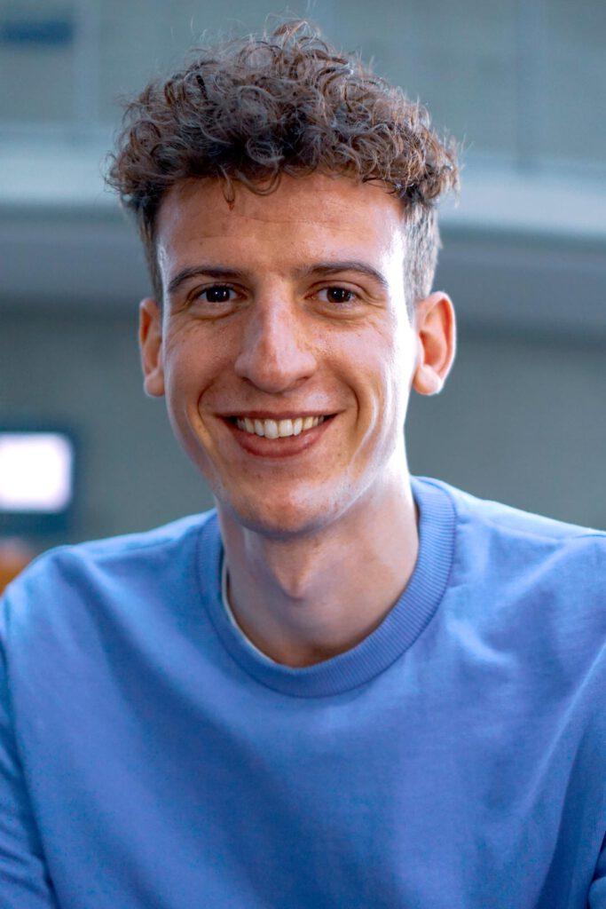 Julian Noah Probst, Unterstützer der SPD-Bundestagskandidatin Julia Söhne für den Wahlkreis Freiburg & Region