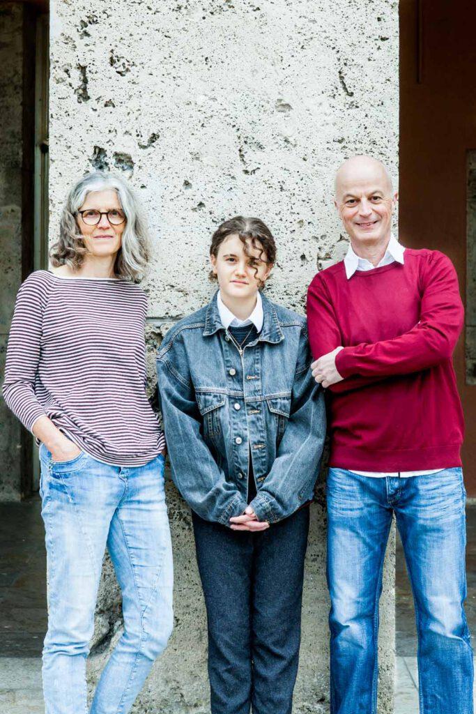 Julias Familie Osswald & Kunz, Unterstützende der SPD-Bundestagskandidatin Julia Söhne für den Wahlkreis Freiburg & Region