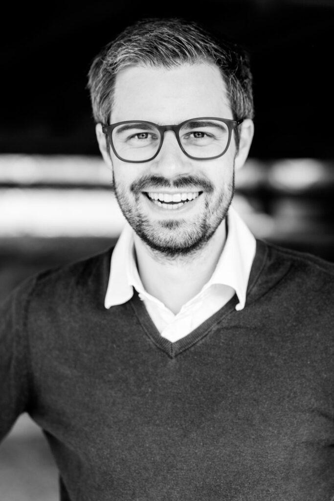 Julien Bender, Unterstützer der SPD-Bundestagskandidatin Julia Söhne für den Wahlkreis Freiburg & Region
