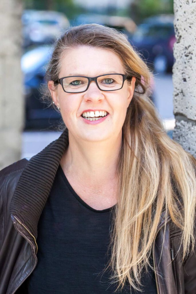 Karin Seebacher, Unterstützerin der SPD-Bundestagskandidatin Julia Söhne für den Wahlkreis Freiburg & Region