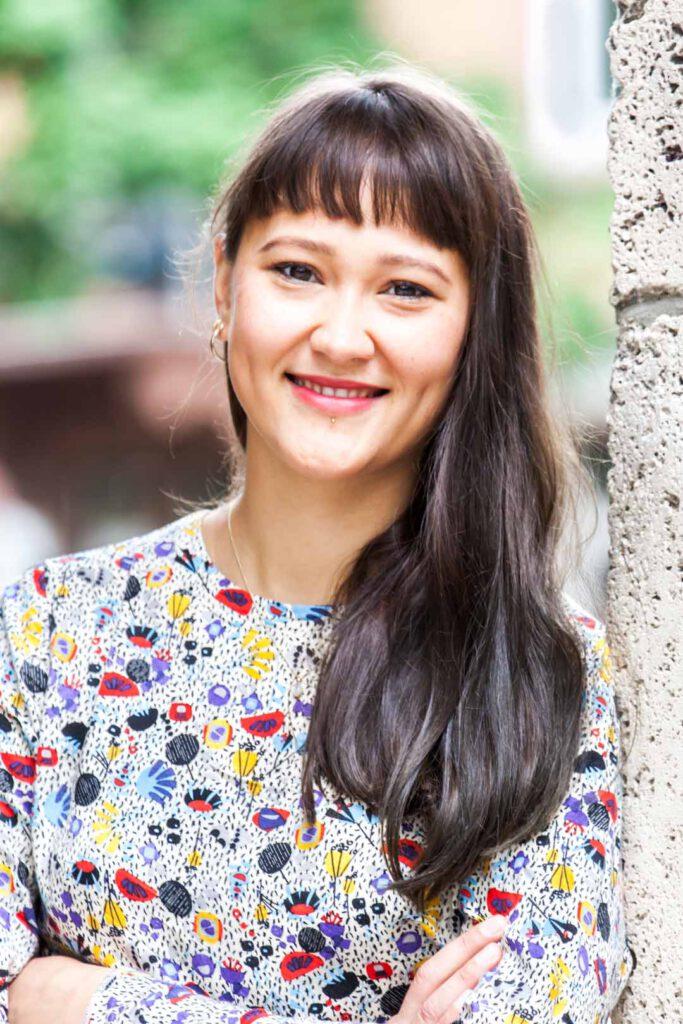 Lara Tan Tjhen, Unterstützerin der SPD-Bundestagskandidatin Julia Söhne für den Wahlkreis Freiburg & Region