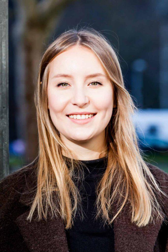 Lena Unmüßig, Unterstützerin der SPD-Bundestagskandidatin Julia Söhne für den Wahlkreis Freiburg & Region
