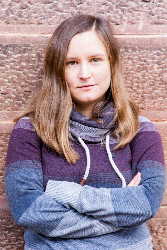 Maria-Xenia Hardt, Unterstützerin der SPD-Bundestagskandidatin Julia Söhne für den Wahlkreis Freiburg & Region