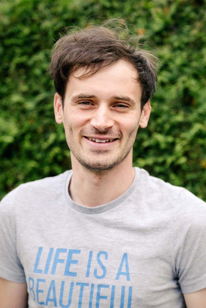Markus Bauer, Unterstützer der SPD-Bundestagskandidatin Julia Söhne für den Wahlkreis Freiburg & Region