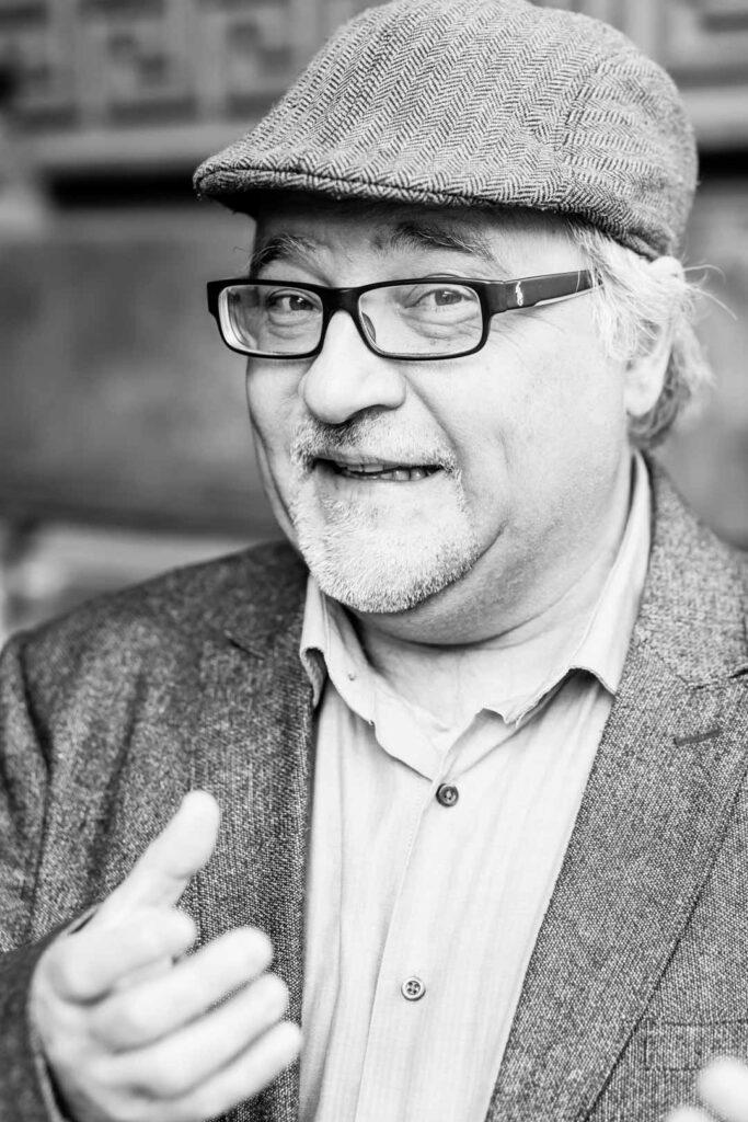 Rüdiger Kopf, Unterstützer der SPD-Bundestagskandidatin Julia Söhne für den Wahlkreis Freiburg & Region