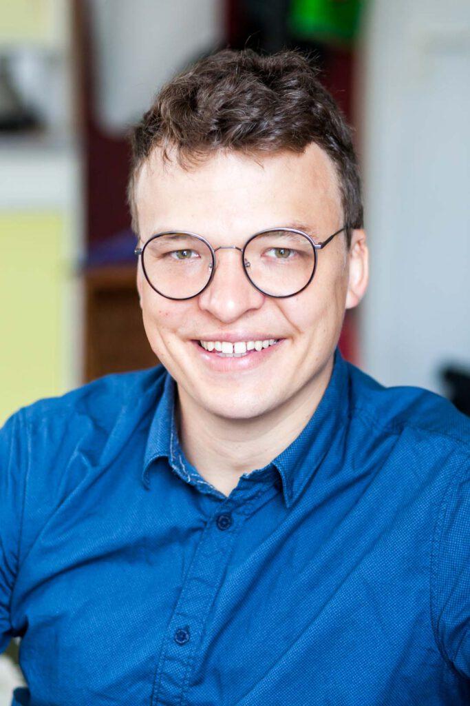 Tobias Hölzer, Unterstützer der SPD-Bundestagskandidatin Julia Söhne für den Wahlkreis Freiburg & Region